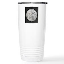 Lunar map of 1854 Travel Mug