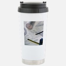 Architectural drawings Stainless Steel Travel Mug
