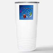Protein translation, ar Stainless Steel Travel Mug