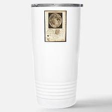 Early map of the Moon,  Travel Mug