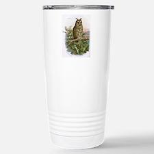 Long-eared owl, histori Travel Mug