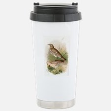 Meadow pipit, historica Stainless Steel Travel Mug