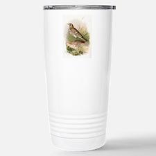 Meadow pipit, historica Travel Mug