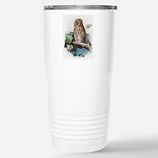 Tawny owl, historical a Travel Mug