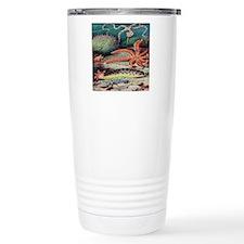 Vintage Sea Creatures Travel Mug