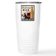 1935 Milk Ad Travel Mug