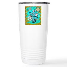 Cat robot Travel Mug