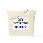My BOYFRIEND Rules! Tote Bag