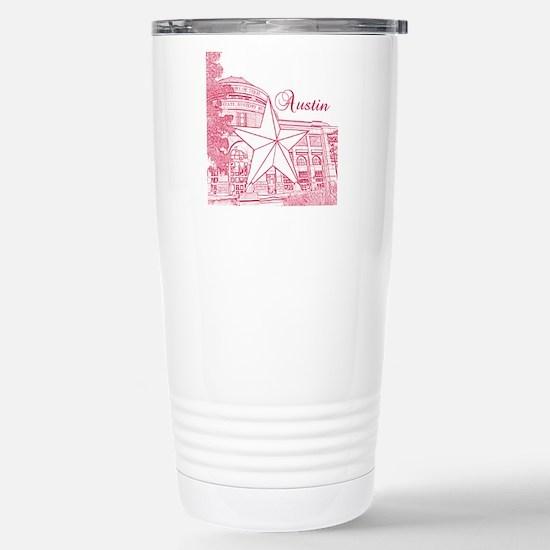 Austin_10x10_BullockTex Stainless Steel Travel Mug