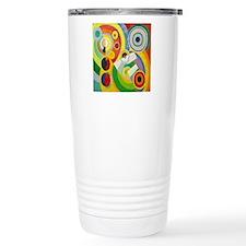 Robert Delaunay Rythme  Travel Coffee Mug