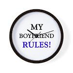 My BOYFRIEND Rules! Wall Clock
