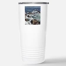 California Ocean 01 Stainless Steel Travel Mug