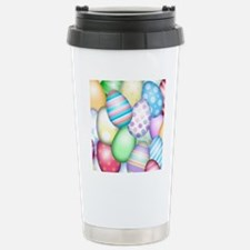 Decorated Eggs Stainless Steel Travel Mug