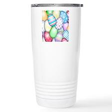 Decorated Eggs Travel Mug