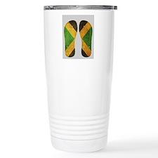 Jamaica Flag Flip Flops Travel Mug