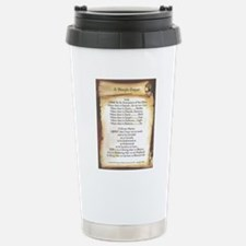 Pope Francis St. Franci Stainless Steel Travel Mug