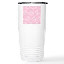 Pink Chic Chandeliers Travel Mug