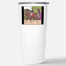 Dressage Horse Riding B Travel Mug