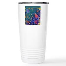 Bright Colored Tropical Travel Mug