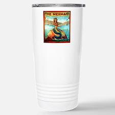Vintage Mermaid Carniva Travel Mug