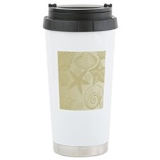 Gold shells Travel Mug