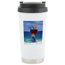 Mermaid Wine Travel Mug