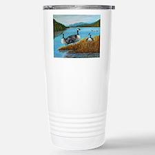 Canada Geese at Lake Lu Travel Mug