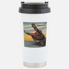 Vintage Alligator Postc Stainless Steel Travel Mug