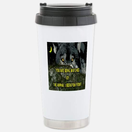 You are being watched! Stainless Steel Travel Mug