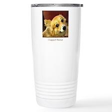 I Support Rescue Travel Mug