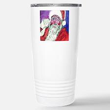 Santa Stainless Steel Travel Mug