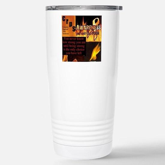 CRPS Awareness Syndrome Stainless Steel Travel Mug