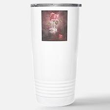 4SSwan Rose Stainless Steel Travel Mug