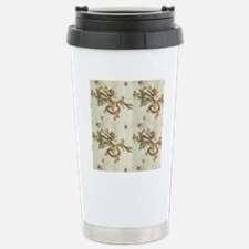 Golden Asian Dragon Travel Mug