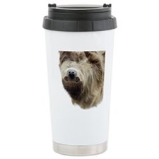 Sloth Curtains Travel Mug