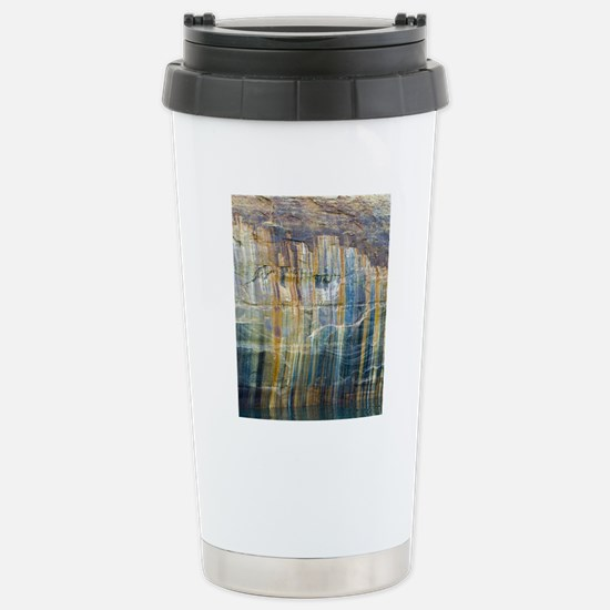 Pictured Rocks National Stainless Steel Travel Mug
