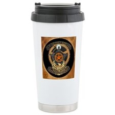 Steampunk Secret Servic Travel Mug