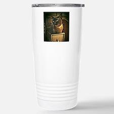 Kiwi the Burmese Cat Travel Mug