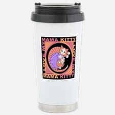 Mama Kitty Cat Graphics Travel Mug
