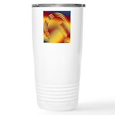 Art Deco Sun #5 Travel Mug