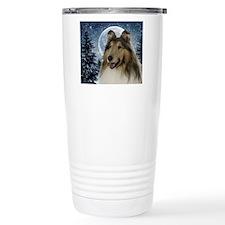 Collie Travel Coffee Mug