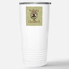 Scots Gaelic Merry Chri Stainless Steel Travel Mug