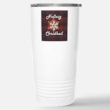Scots Gaelic Merry Chri Travel Mug