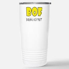 BOF - Boring Old Fart Stainless Steel Travel Mug
