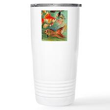 Vintage Colorful Tropic Travel Mug