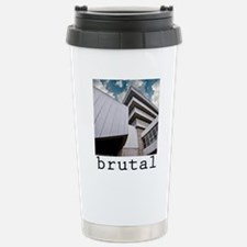 brutalism Stainless Steel Travel Mug