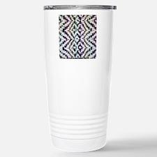 Square Saori Woven Travel Mug
