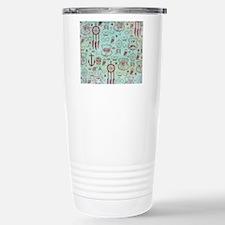 Hipster Stainless Steel Travel Mug
