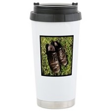 #abandon or #abandoned  Travel Mug