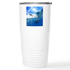 showercurtain683 Travel Coffee Mug
